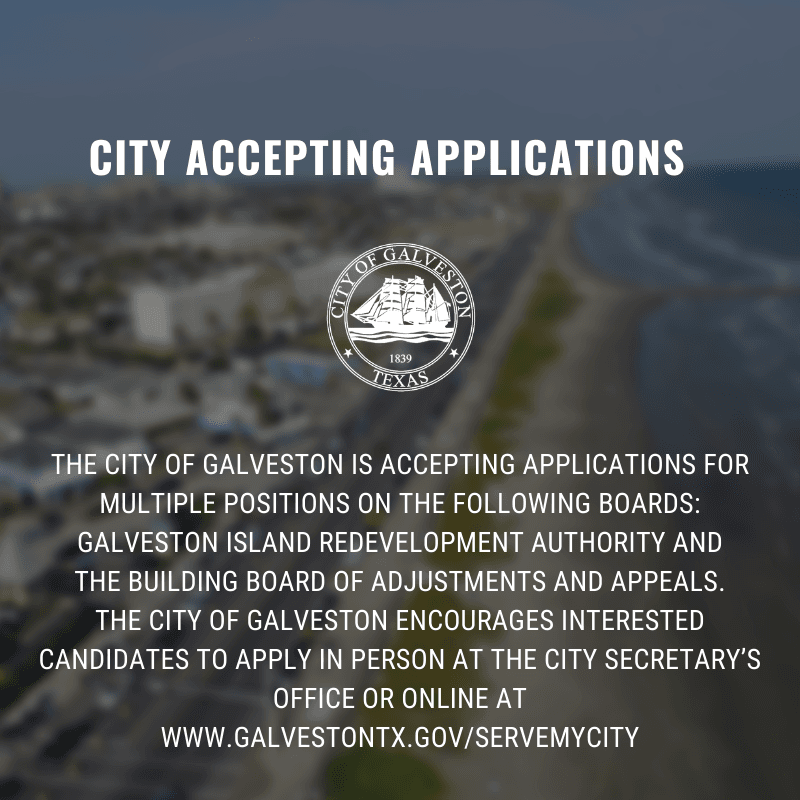 City accepting applications