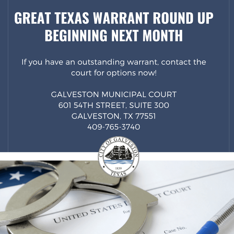 Great Texas Warrant Round up