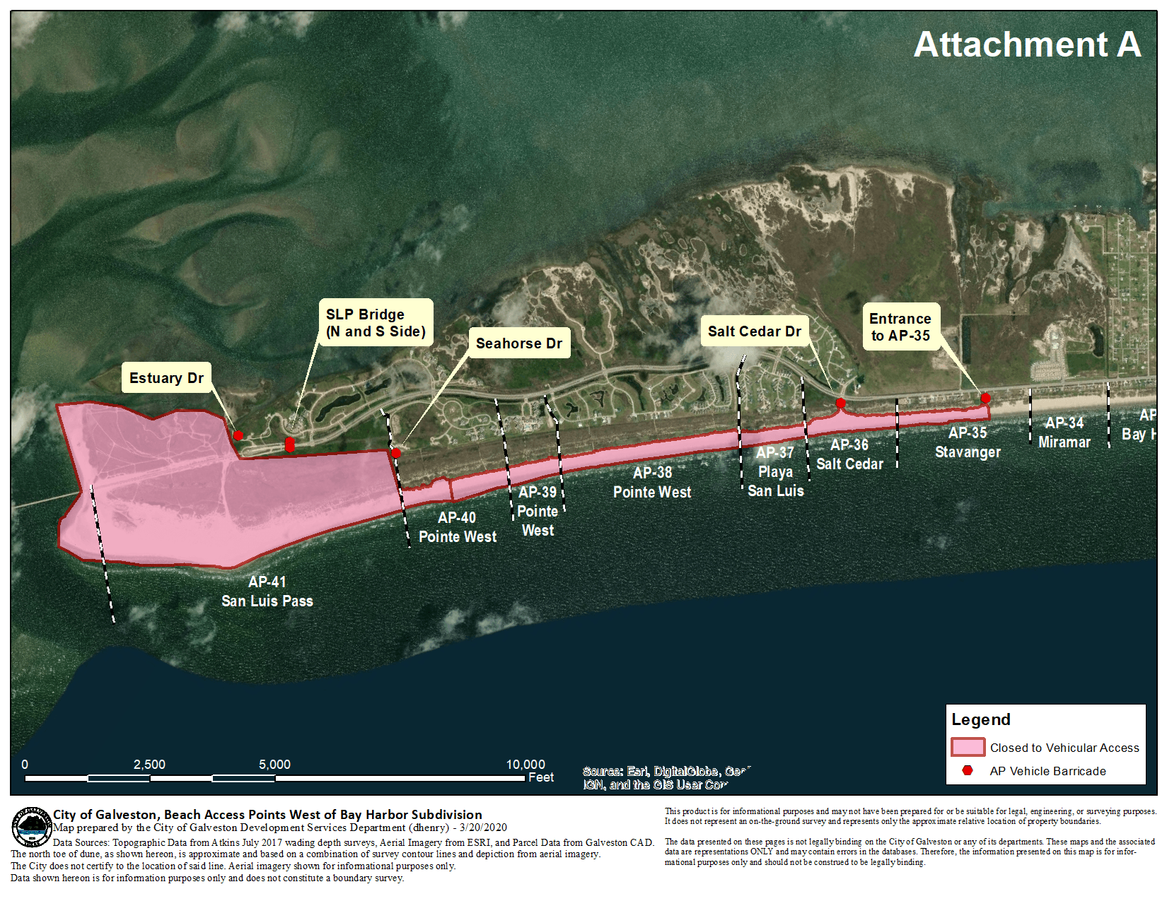 Beach Access closure