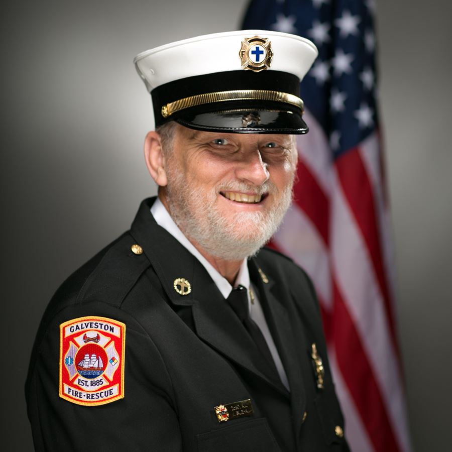 Photo of Fire Chaplain Vaughan