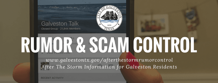Rumor and Scam Control