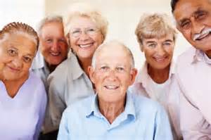 A Photo of a group of senior citizens
