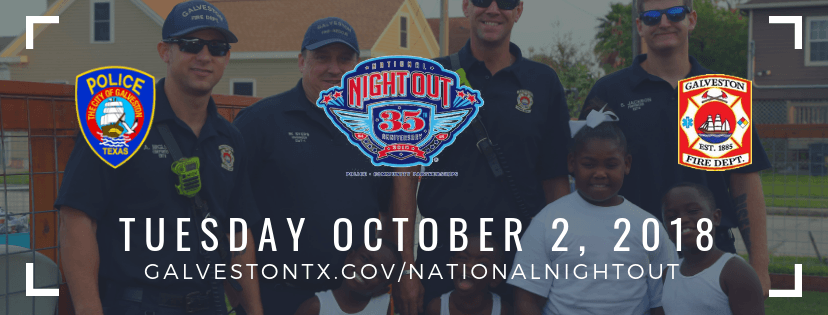 National Night Out - Tuesday, October 2, 2018